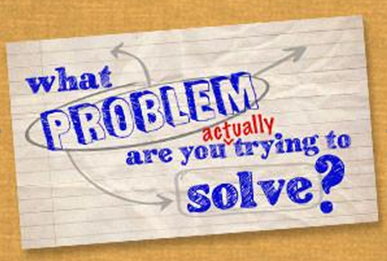 Poster - What Problem are you Actually Trying to Solve?