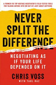 Book cover: Never Split the Difference